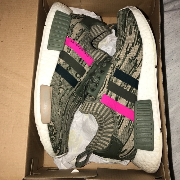 5071dfcbbc46c adidas Shoes - Women s Adidas NMD R1 Glitch Camo St Major Shoes